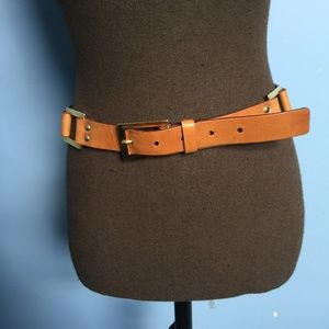 Talbots Plus Size XXL Leather Belt